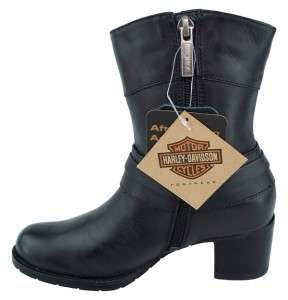 HARLEY DAVIDSON RINA Leather Boots Womens      Multiple
