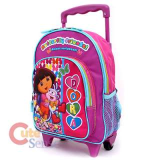 Boots School Rolling Backpack Roller Bag 12 Butterfly Friends