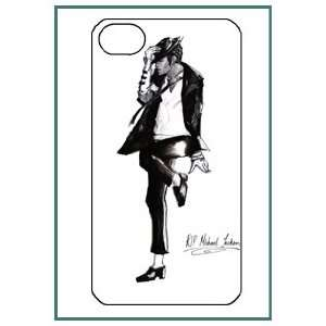 Michael Jackson MJ Pop Star iPhone 4s iPhone4s Black