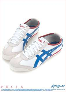 Asics Onitsuka Tiger Mexico 66 White/Blue Shoes T51