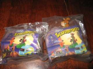Burger King 1996 SCOOBY DOO Toys Lot Of Two NIP DAPHNE