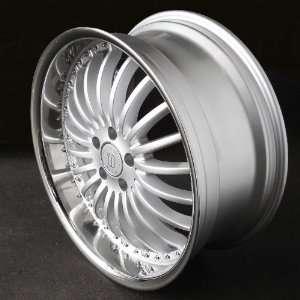 CDwheel Ct701 22x9.5 BMW 6 7 Series Camaro Wheels Rims Hyper Silver