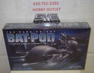 Moebius Model Kit # 920 THE DARK KNIGHT BAT POD 1/25 GMS CUSTOMS HOBBY