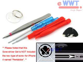 for iPhone 4 4G Power Lock Top Button Repair Part +Tool