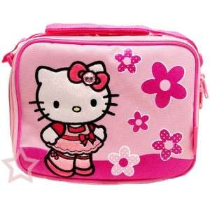 Kitty Flower Lunch Bag and Hello Kitty Body Lotion Set Toys & Games