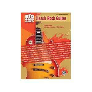 Easy Book of Classic Rock Guitar   Easy Guitar Musical Instruments