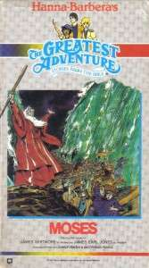 VHS HANNA BARBERA STORIES FROM THE BIBLEMOSES