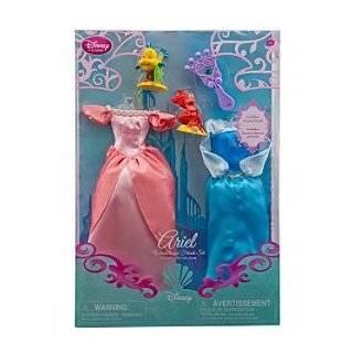 Disney Princess Ariel Doll Wardrobe and Friends Set    5 Pc.