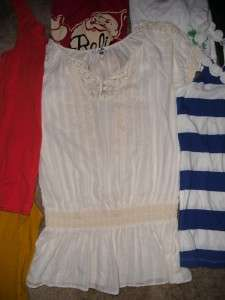 pcs Womens Juniors Tops Shirts Banana Republic Billabong Medium