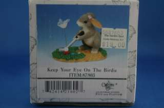 Charming Tails Keep Your Eye On The Birdie Golf LE Box