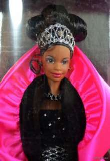 1998 SE HAPPY HOLIDAYS BLACK BARBIE DOLL #20201 NRFB MINT CONDITION