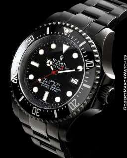 ROLEX SEA DWELLER DEEP SEA 116660 BLACK CASE
