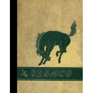 Reprint) 1955 Yearbook Stephen F. Austin High School, Bryan, Texas