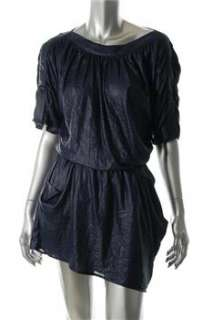 BCBG Maxazria NEW Blue Casual Dress BHFO Sale S