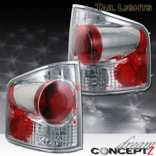 1994 2004 CHEVY S10 GMC SONOMA TRUCK TAIL LIGHTS CHROME