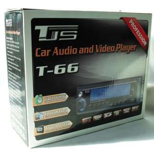 Car Audio 1 DIN Radio Big LCD Screen SD MMC USB Mp3/WMA player 12V T88