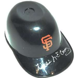 Willie McCovey San Francisco Giants Autographed Mini