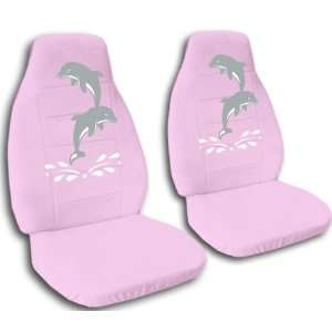 1992 VW Golf car seat covers. Sweet pink seat covers with