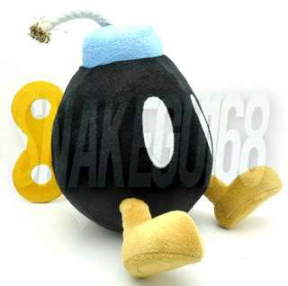 SUPER MARIO BROS LOVELY BOB OMB BOMB PLUSH SOFT TOY DOLL+MX1558