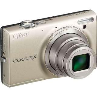 Nikon Coolpix S6100 Digital Camera Silver