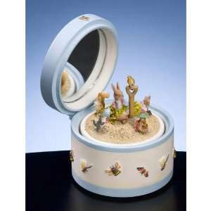 Peter Rabbit Music Box by San Francisco Music Box Co: Home & Kitchen
