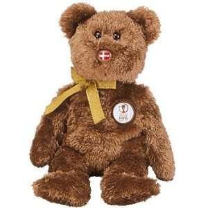 Beanie Baby   CHAMPION the FIFA Bear ( Denmark ) [Toy] Toys & Games