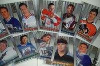 32) 1997 98 HOCKEY DONRUSS STUDIO PORTRAITS CARDS NICE