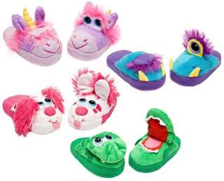 Growling Dragon Green Kids Slippers As Seen On TV Children Youth Shoes