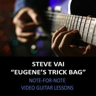 Steve Vai Eugenes Trick Bag Guitar Lesson DVD NEW