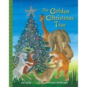 The Golden Christmas Tree (Jan Wahl)   Big Little Golden
