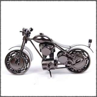 Vintage Hand Made Metal Art Bar Decor Model 1/12 Motorcycle No7