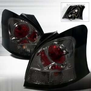 2006 2009 Toyota Yaris Altezza Tail Light Smoke