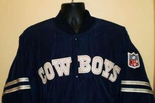 Vtg NFL DALLAS COWBOYS Mens Starter Jacket L