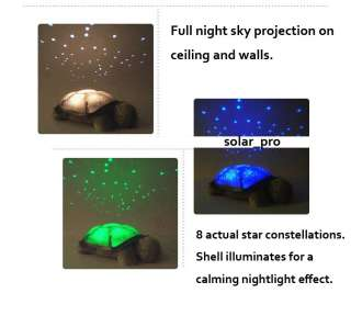 Twilight Turtle Night Light Stars Projector Constellation Lamp