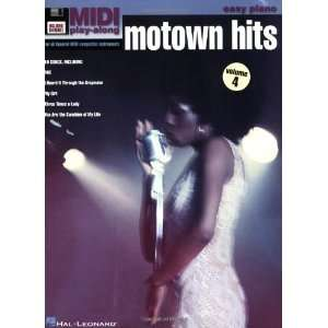 Vol. 4 Motown Hits Easy Piano MIDI Play Along Book/Disk