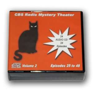 CBS RADIO MYSTERY THEATER Volume 2   Old Time Radio 24