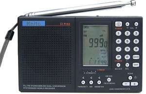Kaito Model KA1102 SSB Short Wave Radio   Black