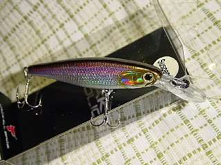 Jackall Bros Lake Police Squirrel 61 NK Lazer Wakasagi