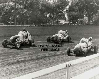 50 DIRT MIDGET AUTO RACING PARSONS RACE PHOTO INDY 500
