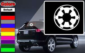 Imperial Logo Star Wars Wall Car Vinyl Decal Sticker