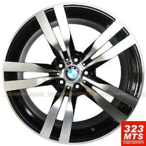 20x10 20x11 BMW X5 X6 Staggered Wheels Rims Machine Black 4pc   1Set