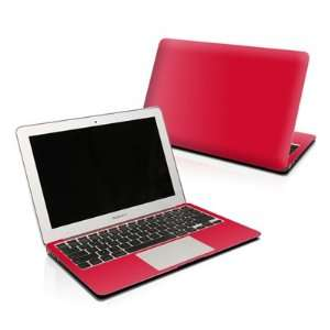 Solid State Red Design Protector Skin Decal Sticker for