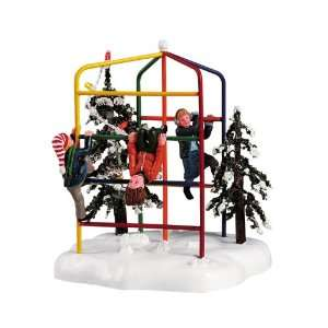 Lemax Christmas Village Collection Jungle Gym Table Accent #54325