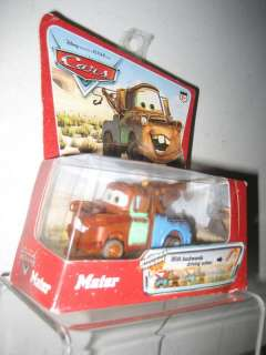 DISNEY CARS MATER PULL BACK MOTOR ACTION VEHICLE NEW