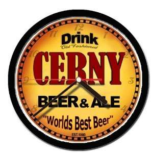 CERNY beer and ale cerveza wall clock: Everything Else