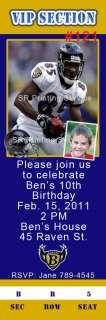 Birthday Invitations Baltimore Ravens Green Bay Packers