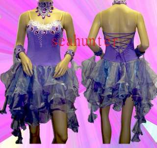 Ld803 Waltz Tango Chacha Salsa latin Dance Dress US 6