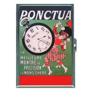Drum Majorette France Watch ID Holder, Cigarette Case or Wallet: MADE