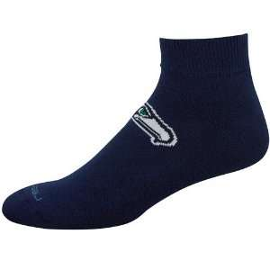 Reebok Seattle Seahawks Navy Blue Team Sun Ankle Socks