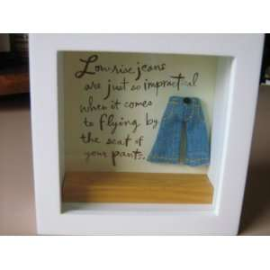 Hallmark Decorative Plaque low rise jeans are just so